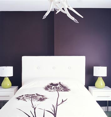 MERETE Pair of curtains - purple - IKEA
