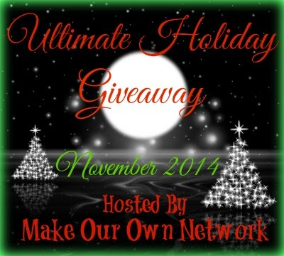 Enter the Ultimate Holiday Giveaway. Ends 11/18.