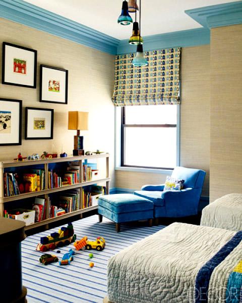 Steven gambrel on children rooms - Roman shades for kids room ...