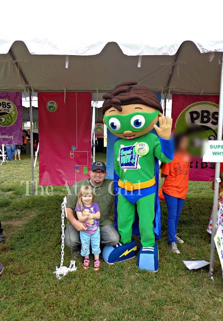 Super Why National Book Festival 2013 PBS Kids