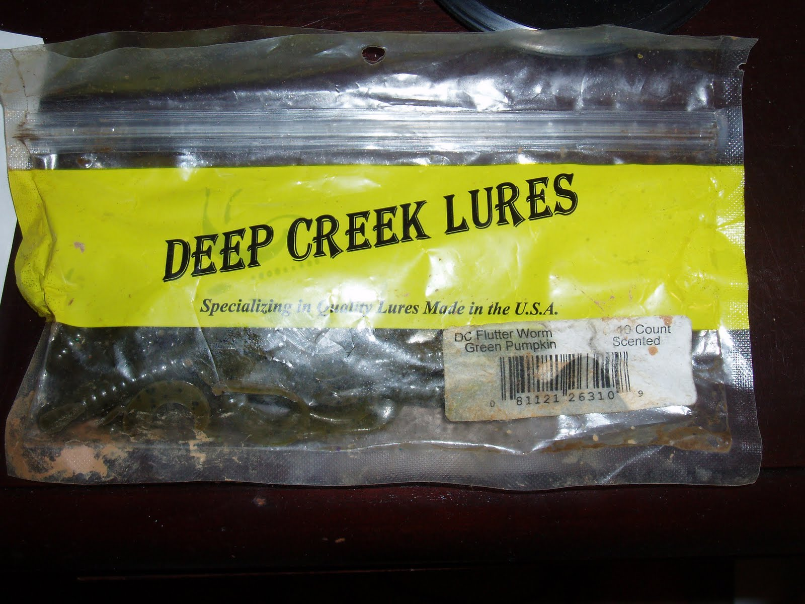 man powered fishing deep creek lures flutter worm review. Black Bedroom Furniture Sets. Home Design Ideas