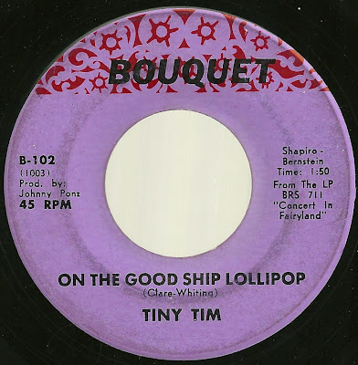 Tiny Tim - On The Good Ship Lollipop