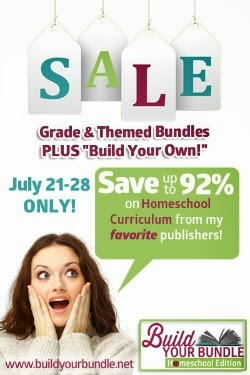 Save 92% on Homeschool Curriculum-Build Your Bundle Sale! Buy 2 Get One Free!