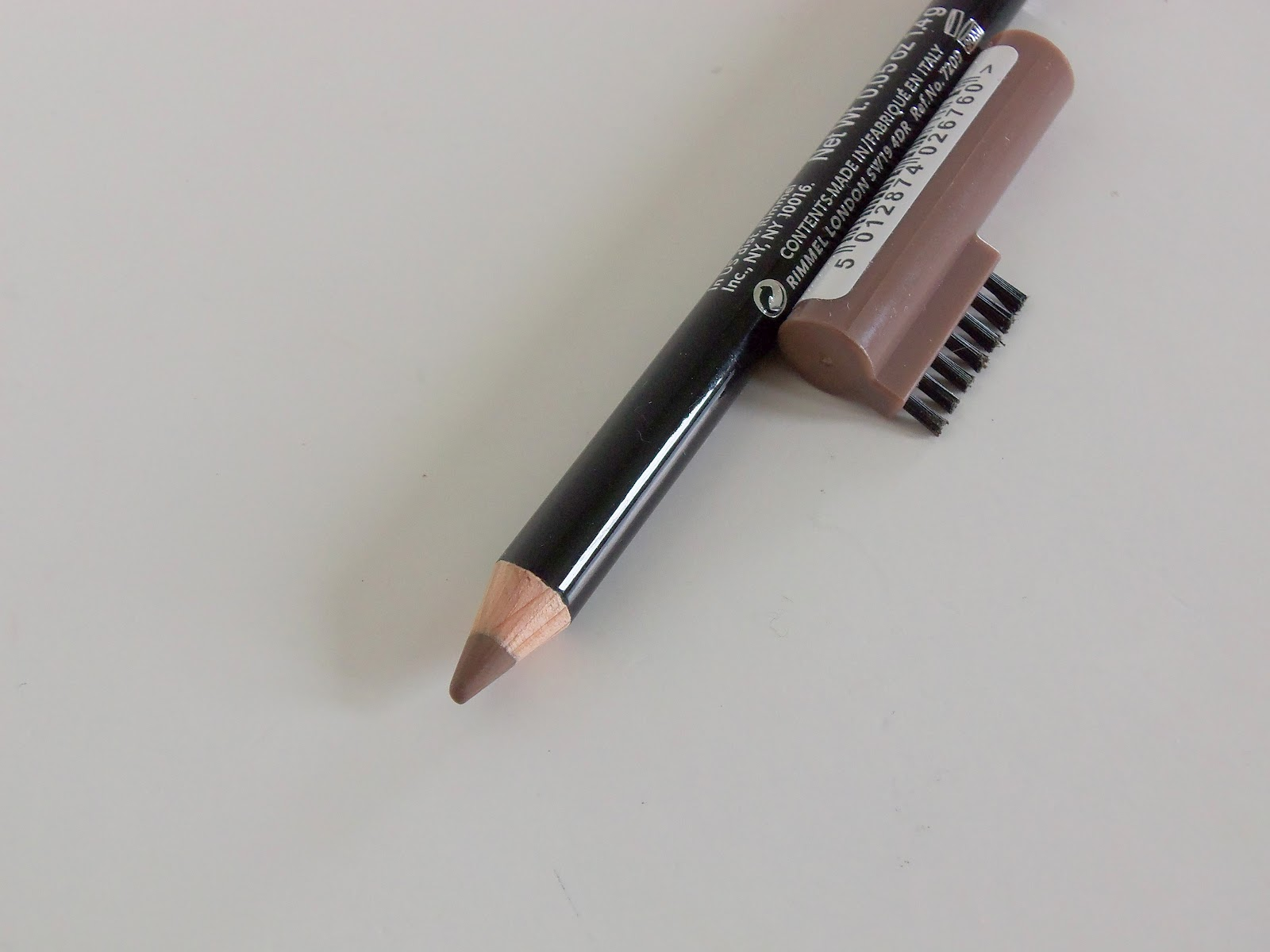 Rimmel Professional Eyebrow Pencil In Hazel Review Swatch A