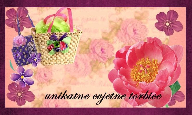 unikatne cvjetne torbice