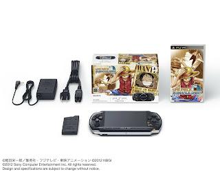 one piece romance dawn psp bundle 2 Japan   One Piece: Romance Dawn PSP Bundle Announced