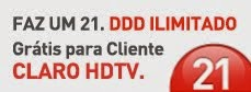 Apenas para clientes Claro TV!