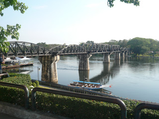 Holiday Fans travel the World RTW -family activities Budget Travel legendary Bridge River Kwai
