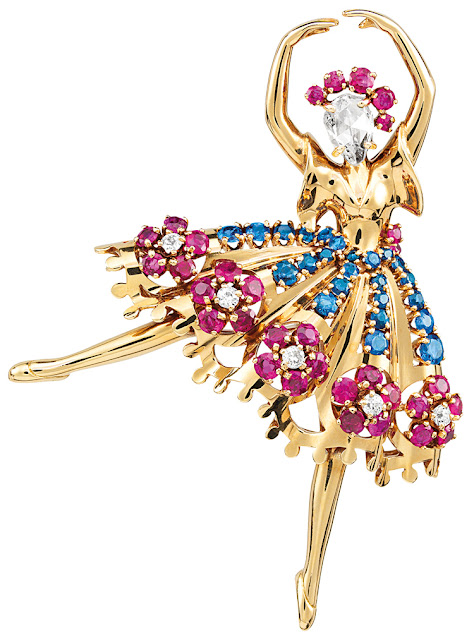 Van Cleef & Arpels Clip Danseuse Grace Intemporelle
