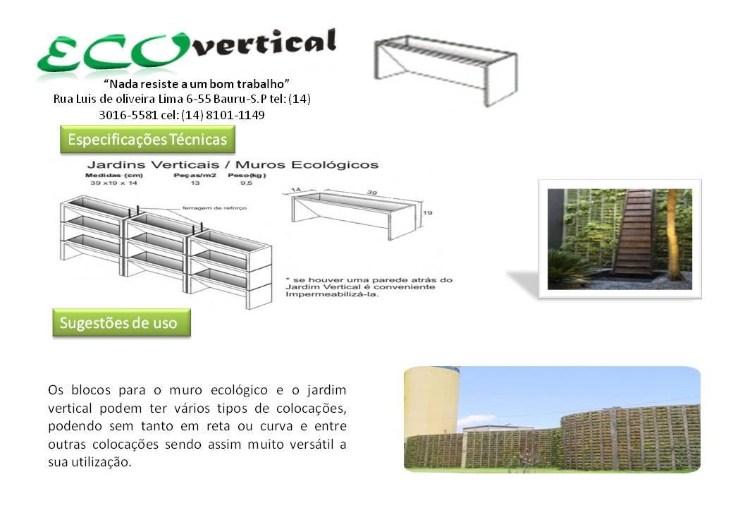 jardim vertical venda:BLOCOS para jardim vertical: venda de blocos