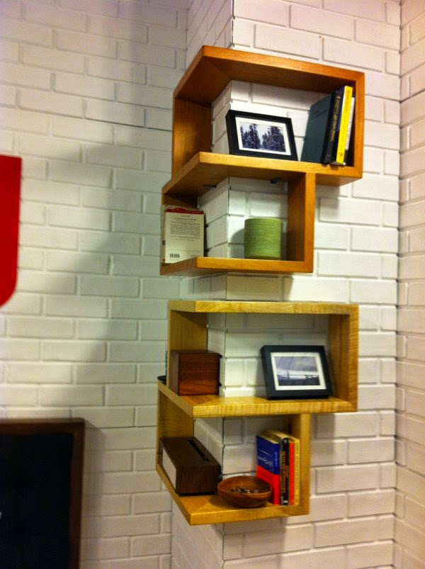 cool corner shelving units for walls 2015 - Shelving Units Ideas