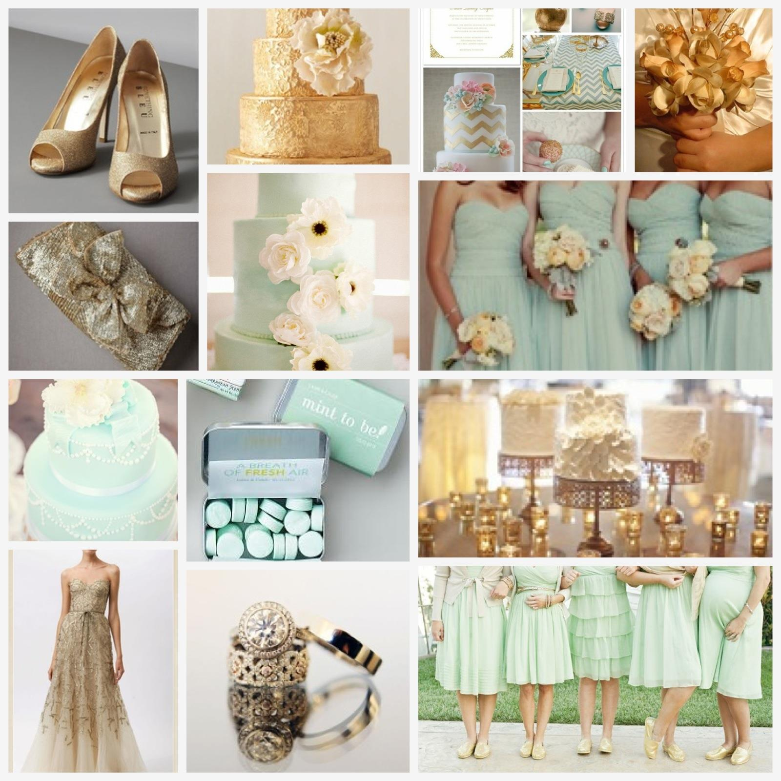 Summer 2016 Wedding Color Palette Mint Green And Everything