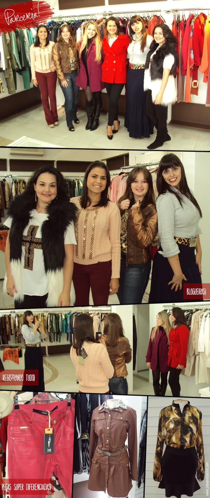 Loja Linda, Sob nova direção, Joinville, fashion, roupas femininas, bom gosto, requinte, sofisticação