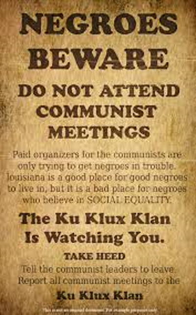 KKK Poster - Wikimedia commons.