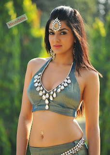 Sakshi Chodhary in lovely Green Choli Stunning movie Stills