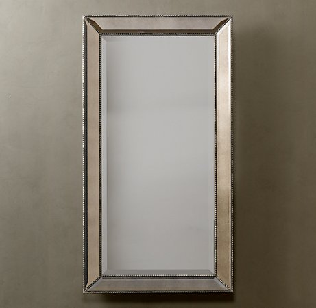 Dead Ringer Restoration Hardware Venetian Beaded Mirror Cindy Crawford