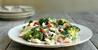 Broccoli and Slaw Salad (aka Resolution Salad)