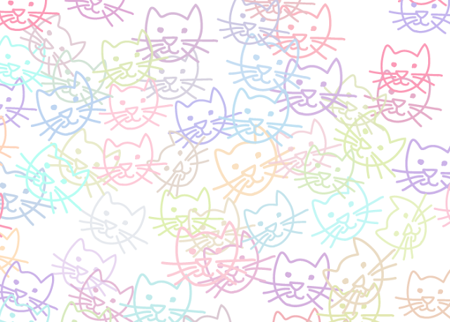 cat pattern 365patterns