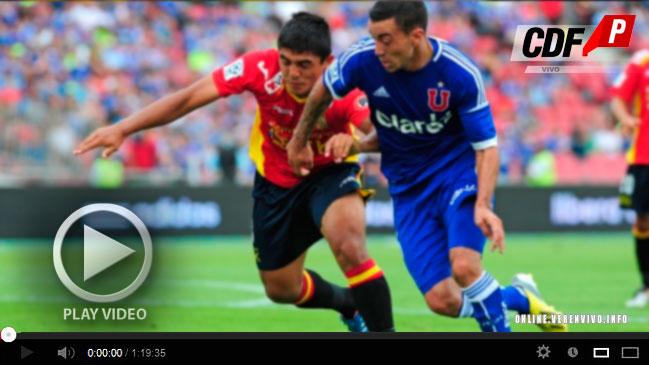 En vivo gratis online U. de Chile vs Independiente Copa Sudamericana