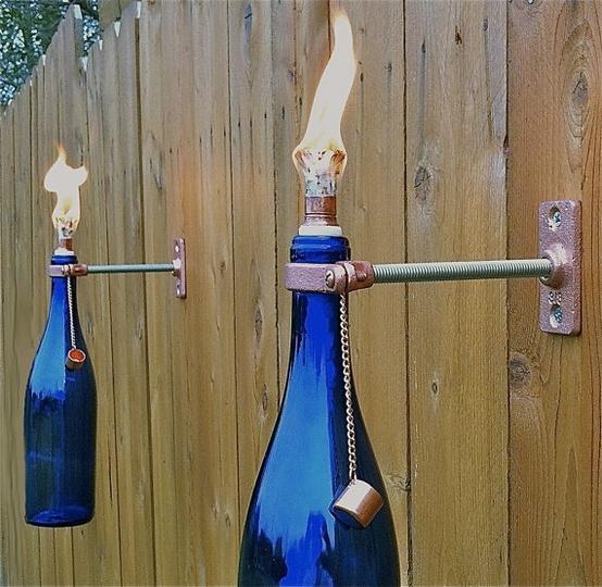 Cách làm đèn dầu treo tường.