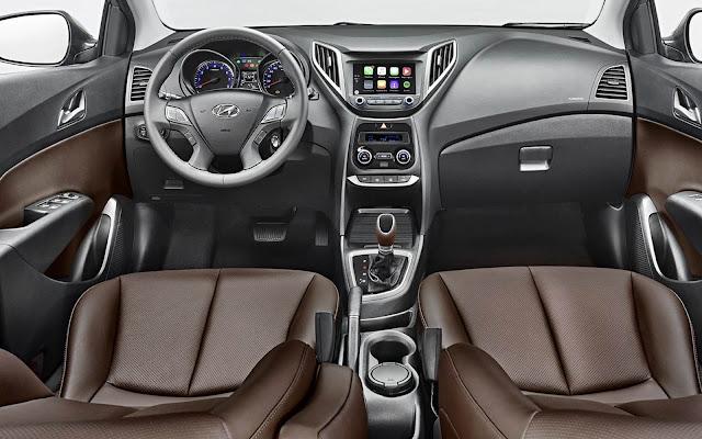 Hyundai HB20 2016 - interior - painel