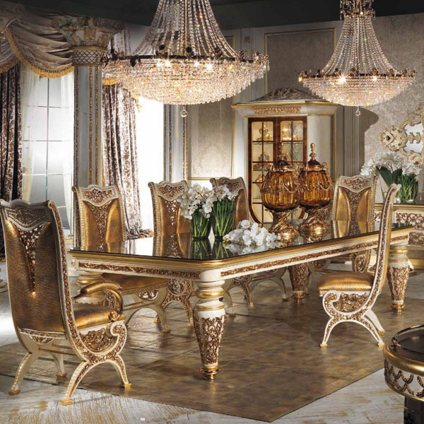 High End Luxury Dining Room Furniture Design