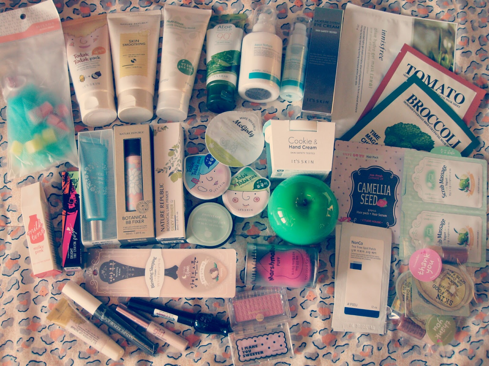 A'PIEU, Etude House, EtudeHouse, Haul, Holika Holika, HOLIKAHOLIKA, Innisfree, it's skin, Korea, Missha, Nature Republic, Skinfood, testerkorea, THEFACESHOP, Tony Moly, TonyMoly, TOO COOL for SCHOOL, Покупки