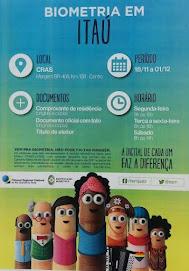 ATENÇÃO ELEITORES DE ITAÚ