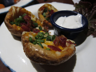 Baked Potato Skins at Hard Rock Cafe Pune