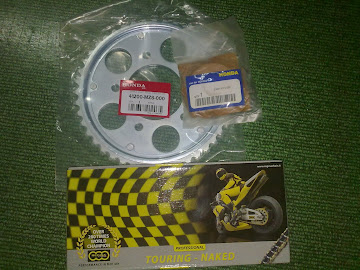 ORI SPOKET SET FOR CB400