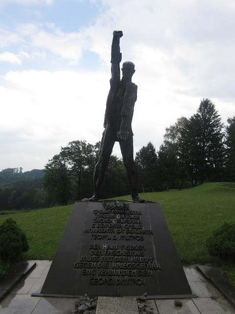 Bulgarian Monument, Mauthausen Concentration Camp, Vienna / SouvenirChronicles.blogspot.com