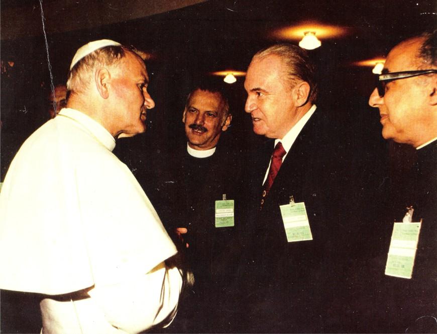Encontro com o Papa João Paulo II