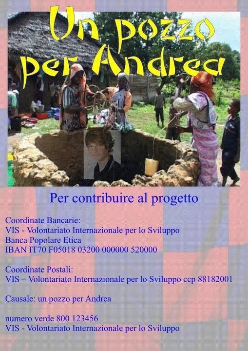 Aiutateci a realizzare il sogno di Andrea