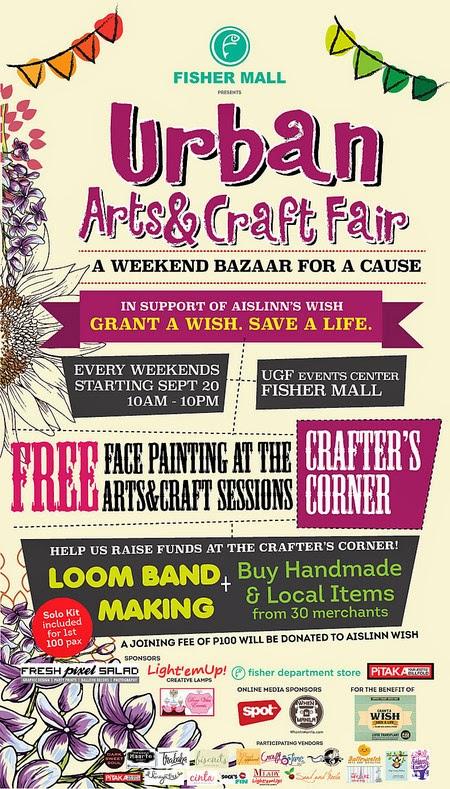 Urban Arts and Craft Fair: A Weekend Bazaar for A Cause