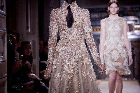 Valentino alta costura primavera verano 2012
