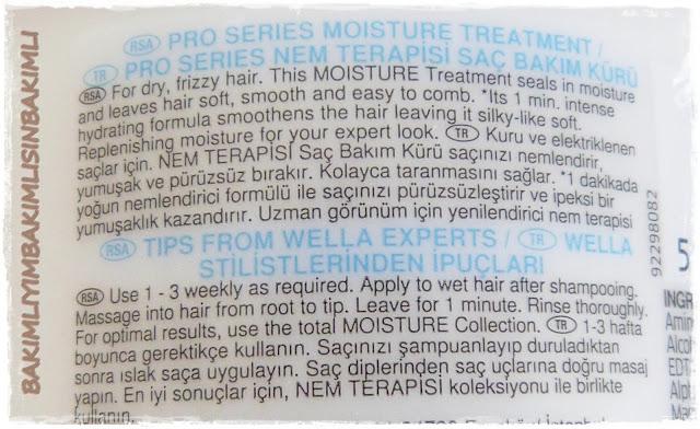 pro series wella moisture mask