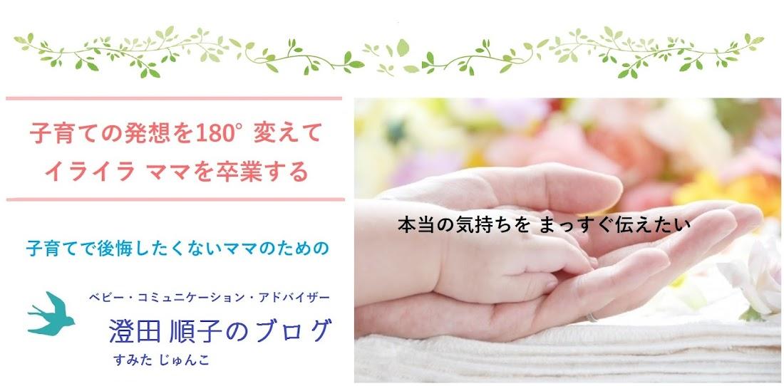 子育ての発想を180°変えて、イライラママを卒業する 澄田順子のブログ