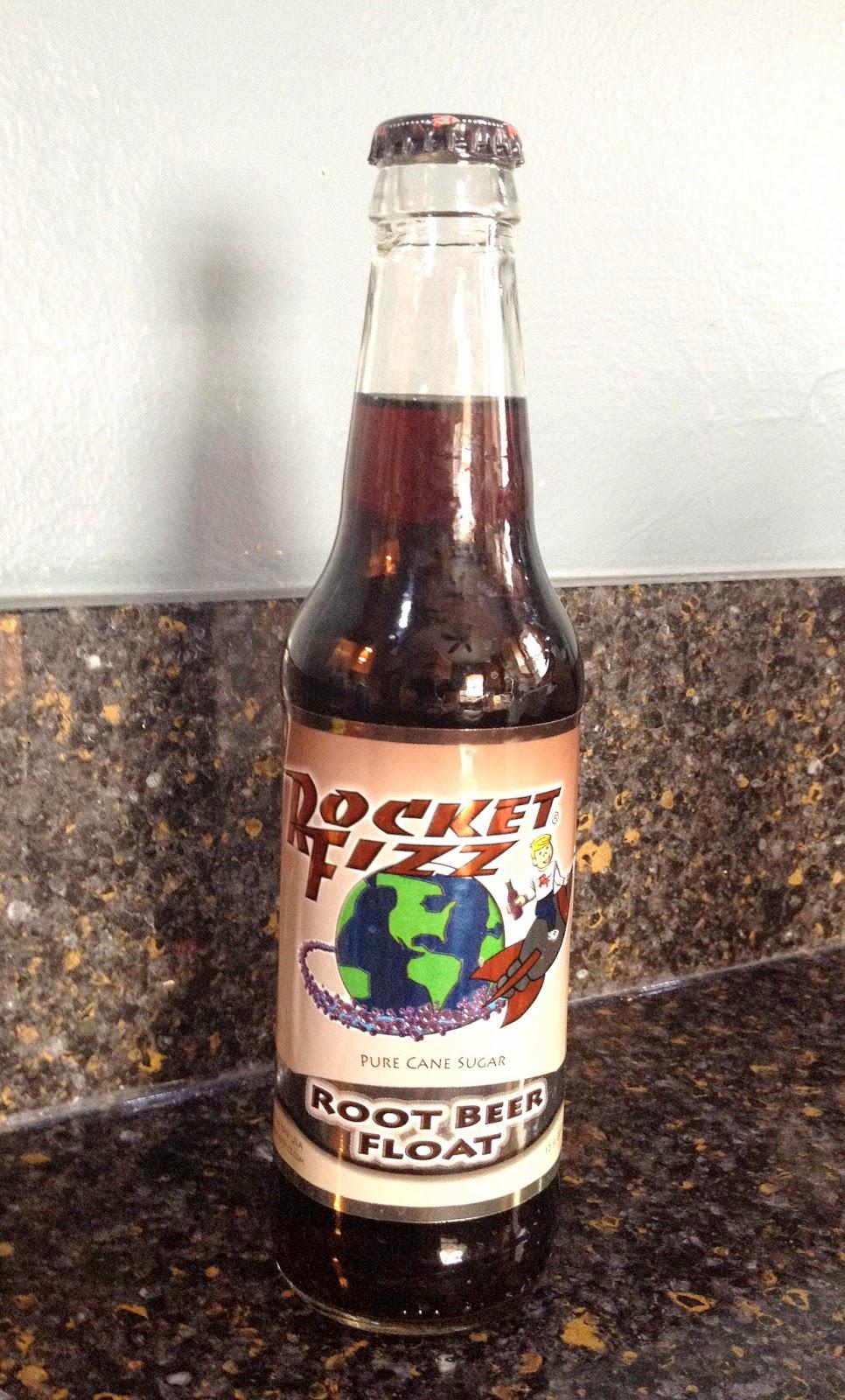 Rocket Fizz Root Beer Float