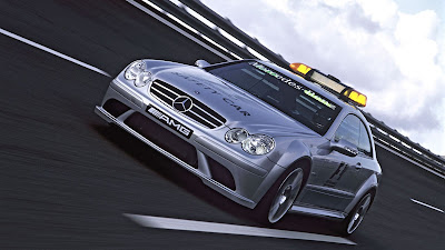Mercedes Benz CLK 63 AMG Safety Car Modification Wallpapers