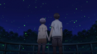 Nagato and Kyon get close