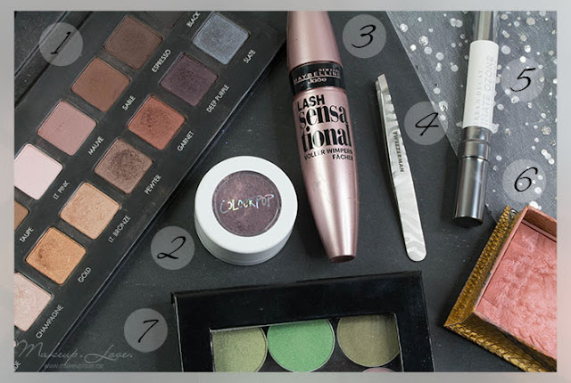 Beauty Jahresfavoriten 2015 makeupgeek, LORAC, Tweezerman, benefit, maybelline colourpop