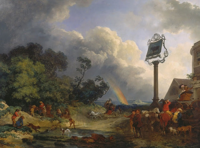 rainbow,Loutherbourg,romanticism