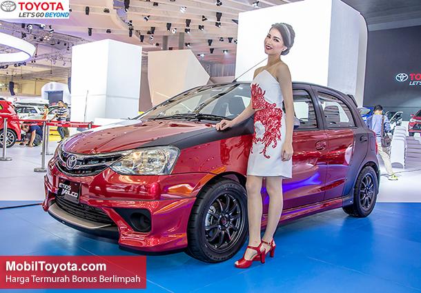 Harga Toyota Etios Valco Tipe JX E G Tom's Baru 2015, 2016 di Jakarta, Tangerang, Depok, Bekasi, Bogor, Bekasi, Serang.