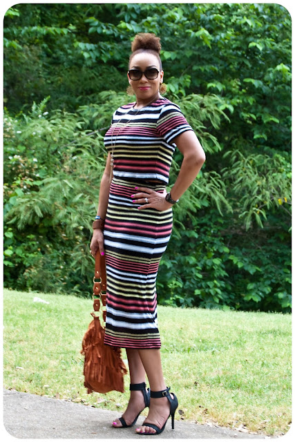 Modified McCall's 6886 | Two-Piece Matchy Matchy -- Erica B's DIY Style!