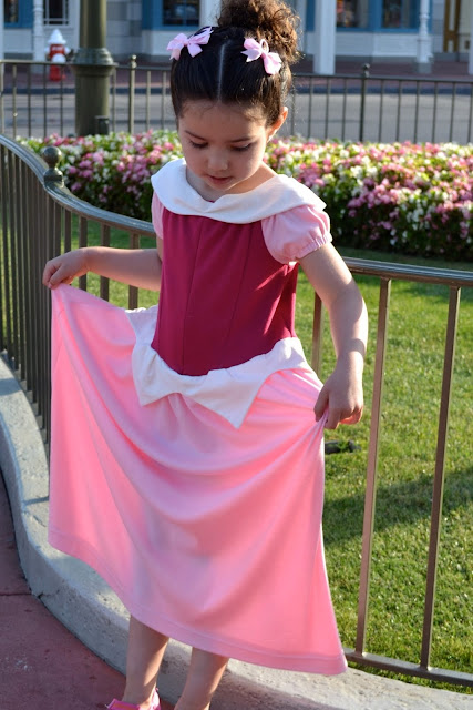 Sleeping beauty costume diy