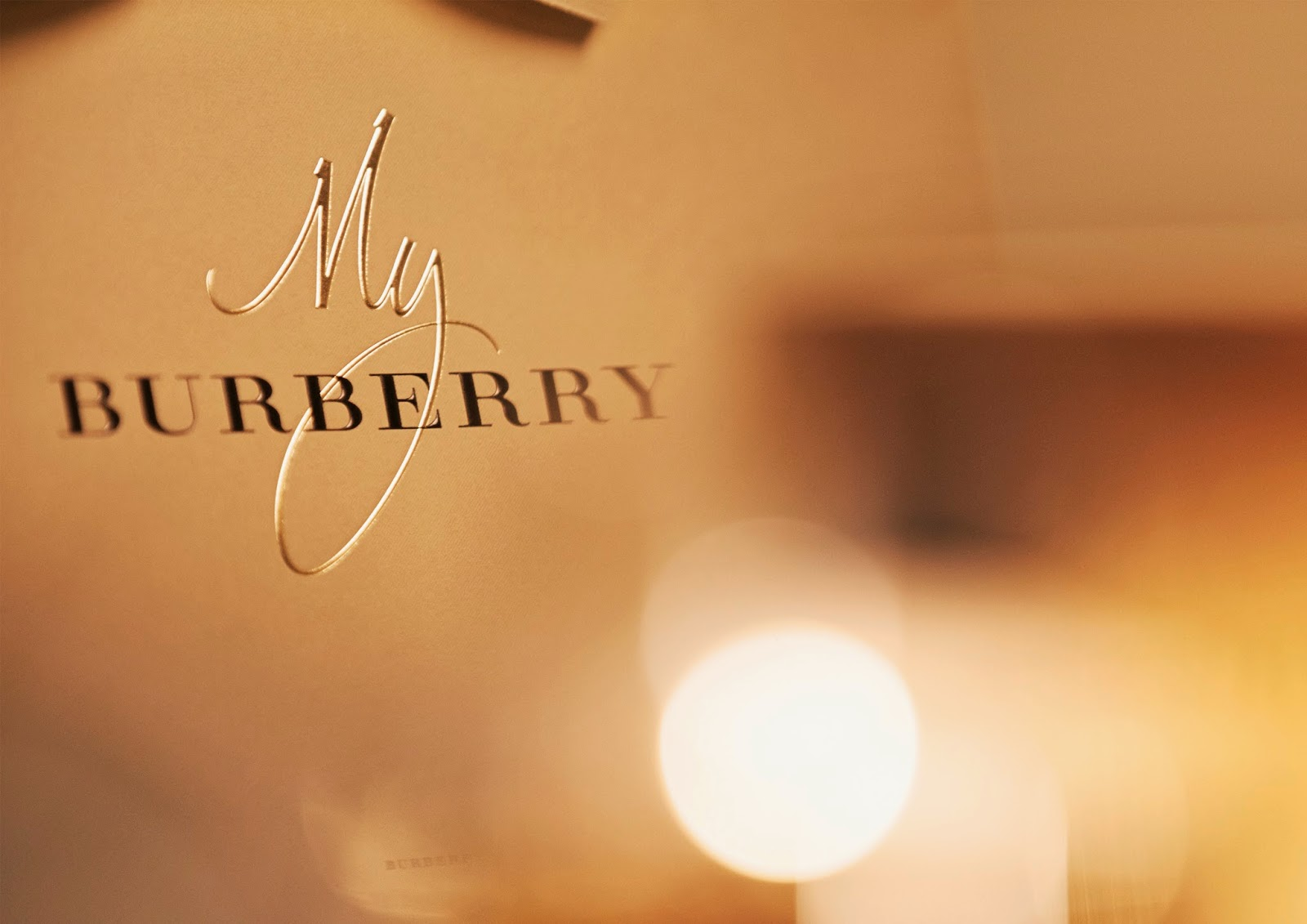 "Burberry Debuts ""My Burberry"" Fragrance"