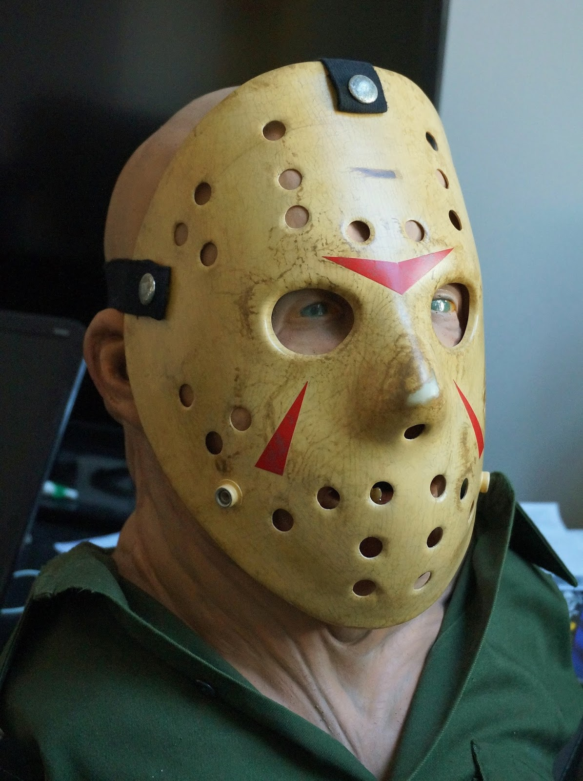 Jasonlivessince1980 S Friday The 13th Blog Closeups Of Part 3 Hock