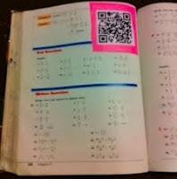 Códigos QR para las clases de Matemáticas