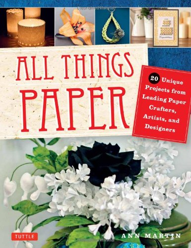 Book Review- All Things Paper by Ann Martin