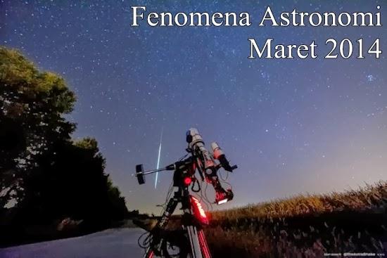 Wajib Lihat! Daftar Fenomena Astronomi Maret 2014